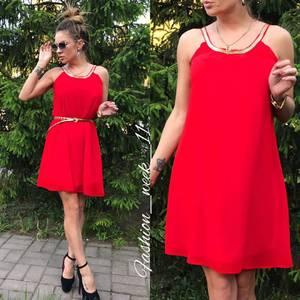 Платье  короткое летнее У1581