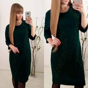 Платье короткое нарядное современное Ф3654