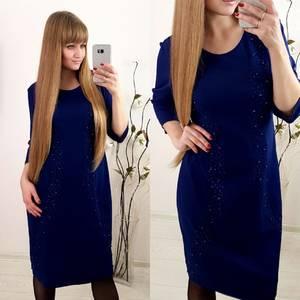 Платье короткое нарядное современное Ф3655