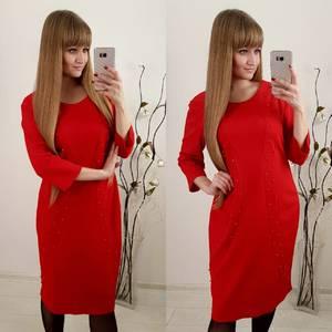 Платье короткое нарядное современное Ф3656