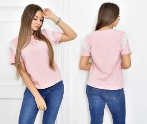 Футболка розовая Т5494
