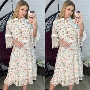 Платье короткое современное Я2808