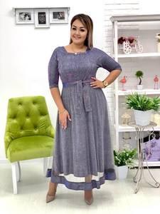 Платье длинное нарядное А18686