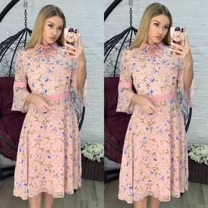 Платье короткое современное Я2809