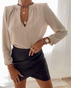 Блуза с длинным рукавом А11565