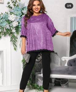 Блуза нарядная А15736