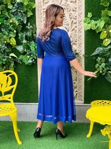 Платье длинное нарядное А18687