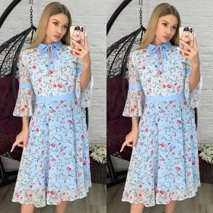 Платье короткое современное Я2810