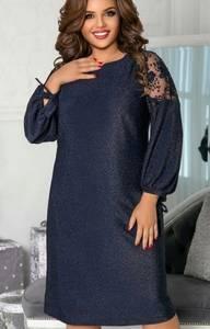 Платье короткое нарядное А59061