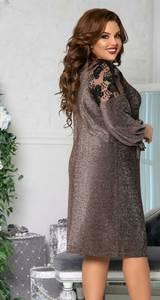Платье короткое нарядное А59062