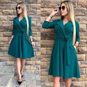 Платье короткое классическое современное Ф1099