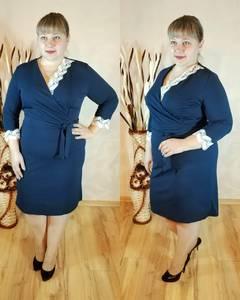 Платье короткое нарядное однотонное Ф1129