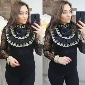 Блуза с длинным рукавом Х7864
