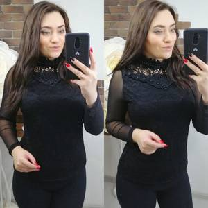 Блуза с длинным рукавом Х7866
