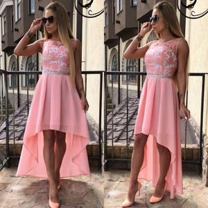 Платье длинное однотонное вечернее Ф5627