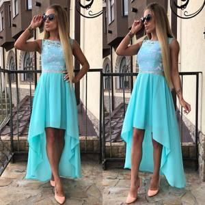 Платье длинное однотонное вечернее Ф5630