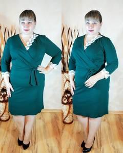 Платье короткое нарядное однотонное Ф1131