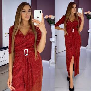 Платье длинное нарядное Ш6433