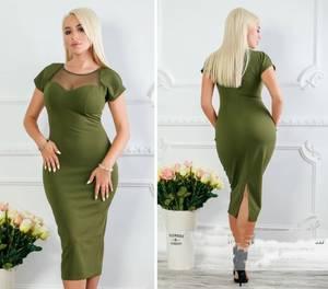 Платье короткое нарядное Х0218
