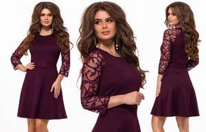 Платье короткое нарядное элегантное Х1054
