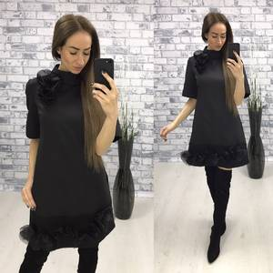 Платье  короткое вечернее У1422