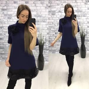 Платье  короткое вечернее У1424