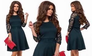 Платье короткое нарядное элегантное Х1053