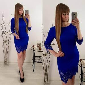 Платье  короткое элегантное У1584