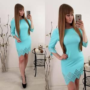 Платье  короткое элегантное У1585
