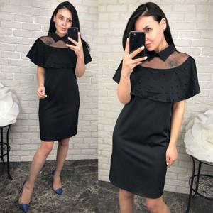 Платье  короткое вечернее У1588