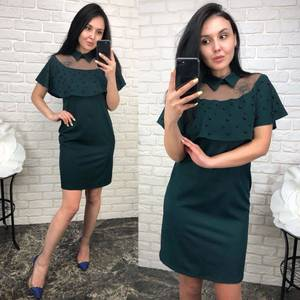 Платье  короткое вечернее У1590
