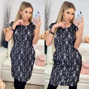 Платья короткое повседневное без рукавов Х0122