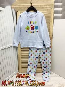 Пижама на флисе А13614