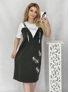 Платье короткое летнее А49084