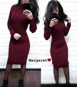 Платье короткое с длинным рукавом А54756