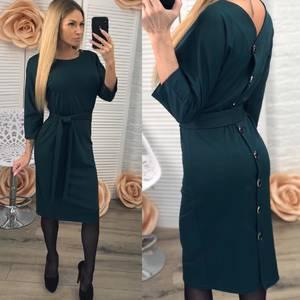 Платье короткое облегающее Ч0078