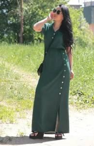 Платье длинное летнее А44438