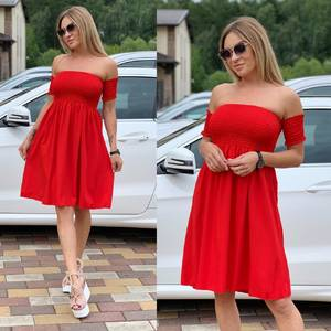 Платье короткое летнее Ш1153