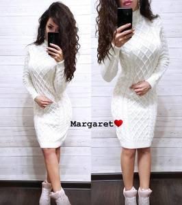 Платье короткое с длинным рукавом А54760