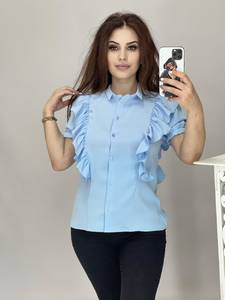 Рубашка с коротким рукавом А41726