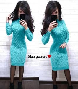 Платье короткое с длинным рукавом А54762