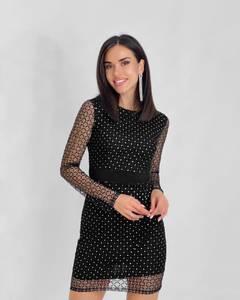 Платье короткое нарядное А59117