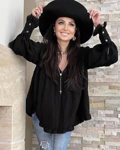 Блуза с длинным рукавом А36108