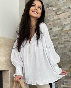 Блуза с длинным рукавом А36109