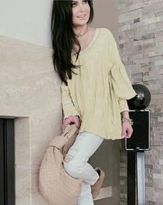 Блуза с длинным рукавом А36110
