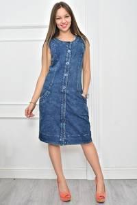 Платье короткое однотонное повседневное Ф0166