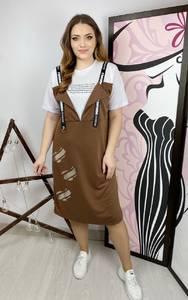 Платье короткое повседневное А36119