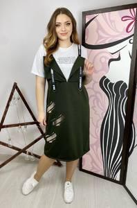 Платье короткое повседневное А36121