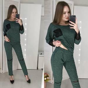 Костюм брючный модный Ф7596