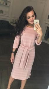 Платье короткое с рукавом 3/4 современное Ф5322